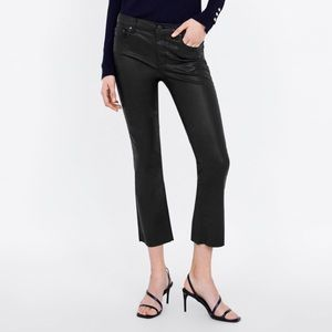 Women s Zara Waxed Jeans on Poshmark d8b4f98c9c07